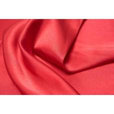 Атлас-сатин (красный) пэ/эластан цв.14 60/1,7Маз