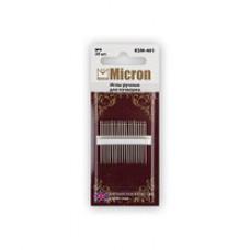Иглы ручные для пэчворка MICRON KSM-401 (20 шт)