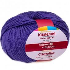 """Пряжа """"Камелия"""" 0031 темно-фиолетовый"""