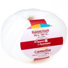 "Пряжа ""Камелия"" 0235 супер белый"