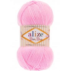 """Пряжа """"ALIZE Бэби бэст"""" 185 светло-розовый"""