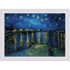 """1884 """"Звездная ночь"""" по мотивам картины Ван Гога"""